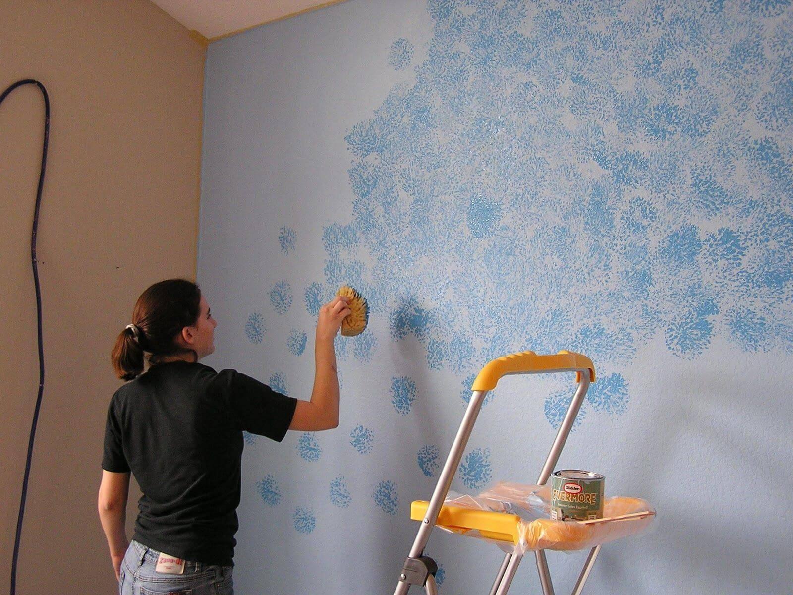 Технология покраски стен водоэмульсионной краской