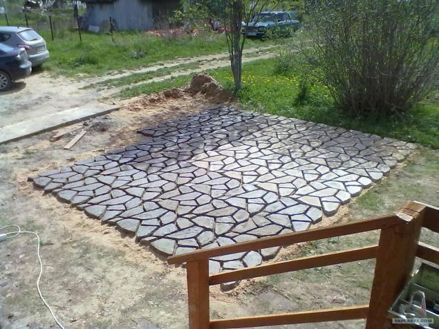Как сделать площадку (стоянку) под машину на даче своими руками – инструкция и варианты | o-builder.ru