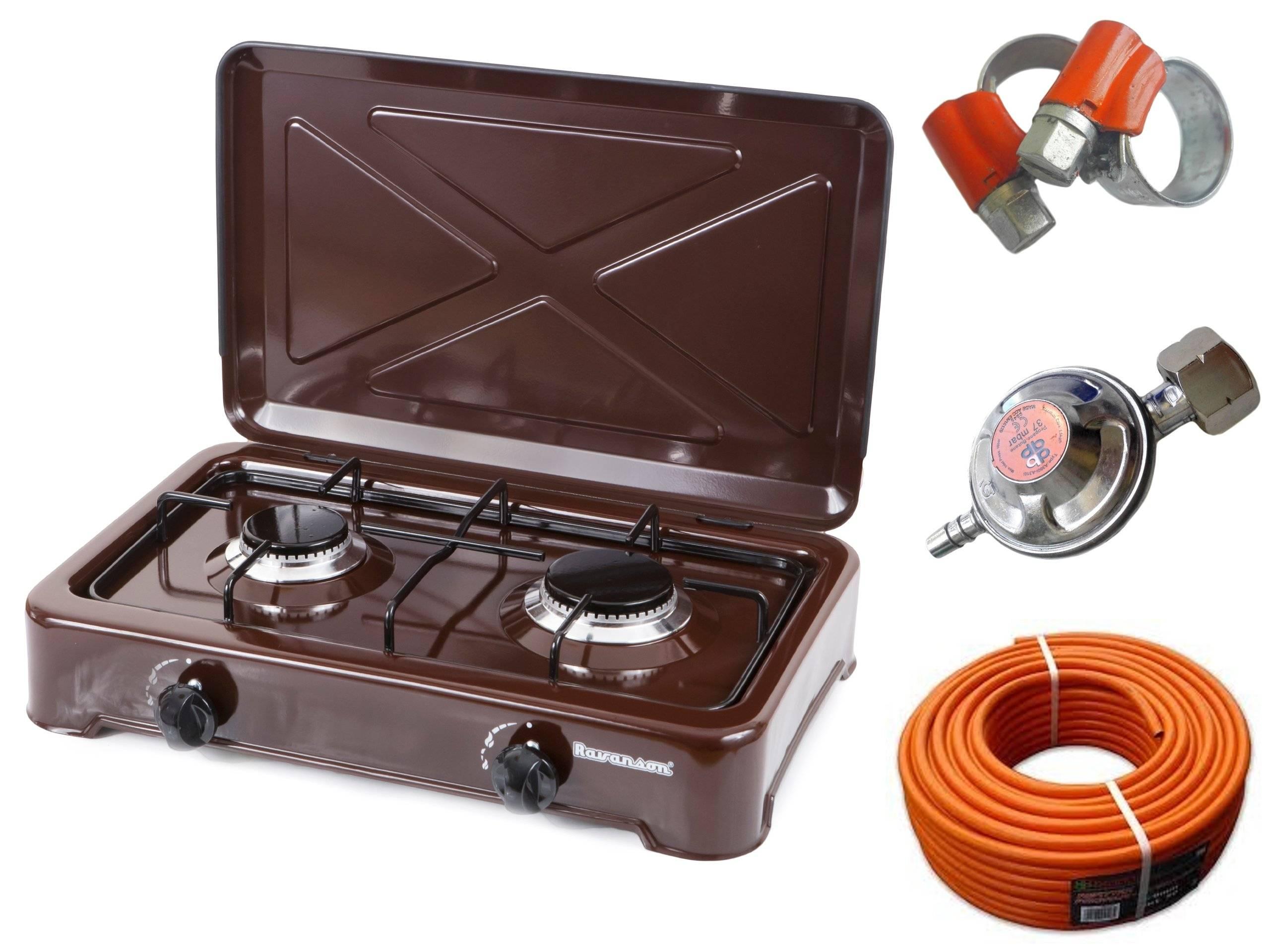 Как выбрать и подключить газовую плиту для дачи под баллон?