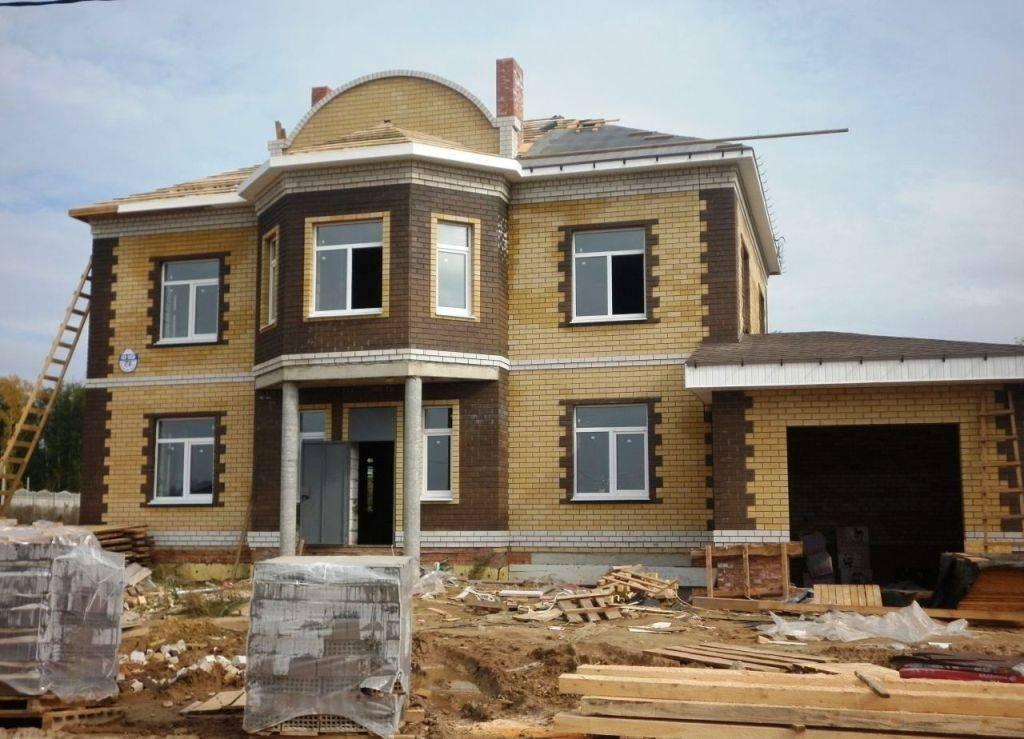 Строительство из кирпича и блока