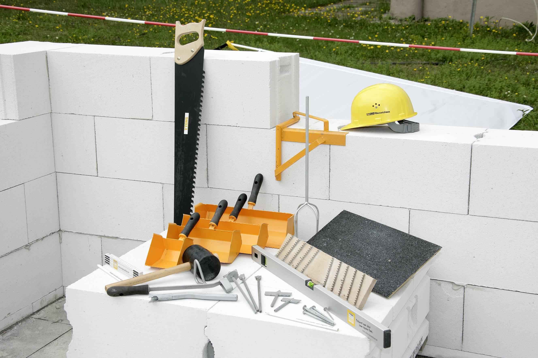 Строительство дома из газоблока своими руками