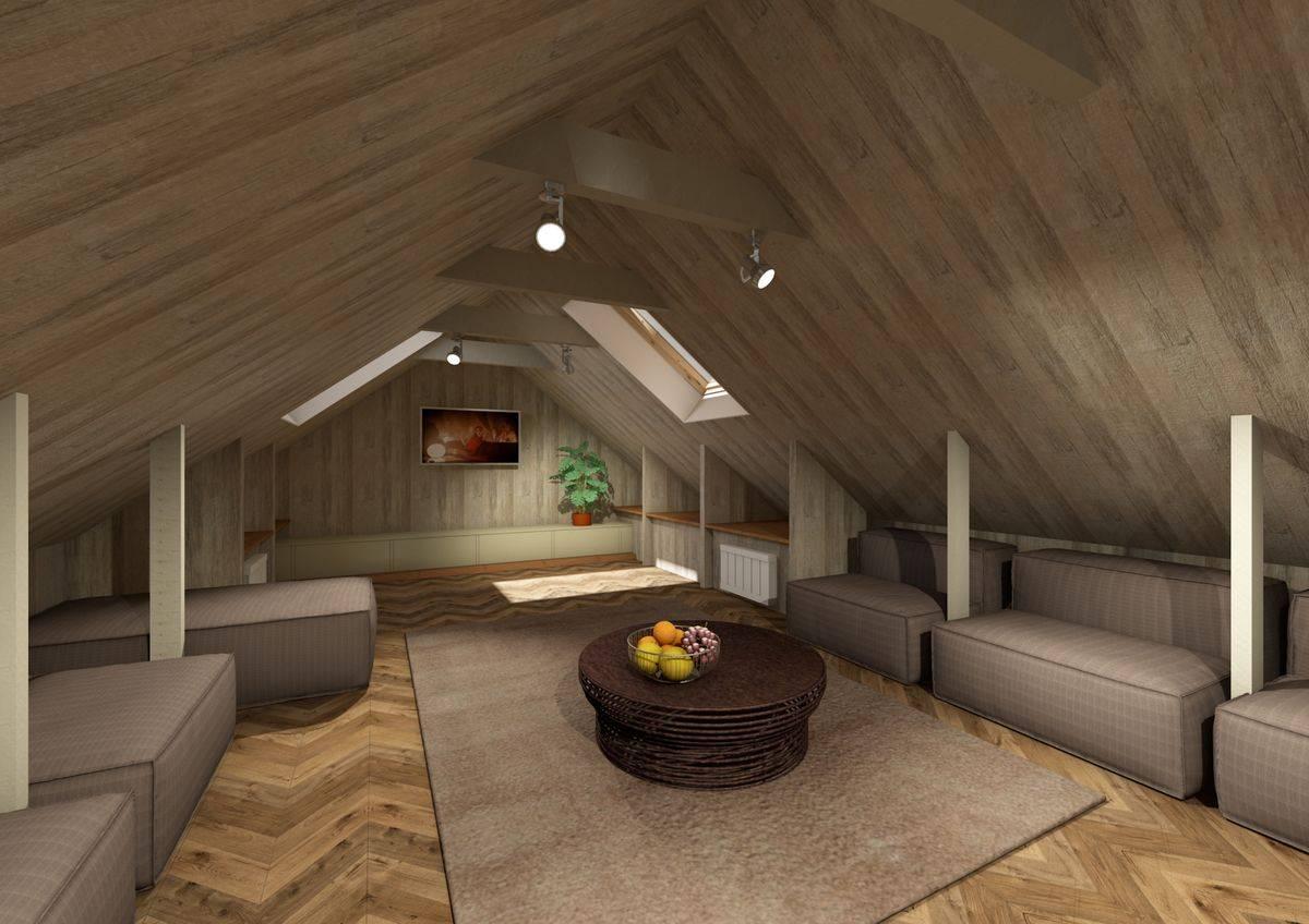 Чертежи и проекты одноэтажных домов с мансардой — 65 фото лучших вариантов