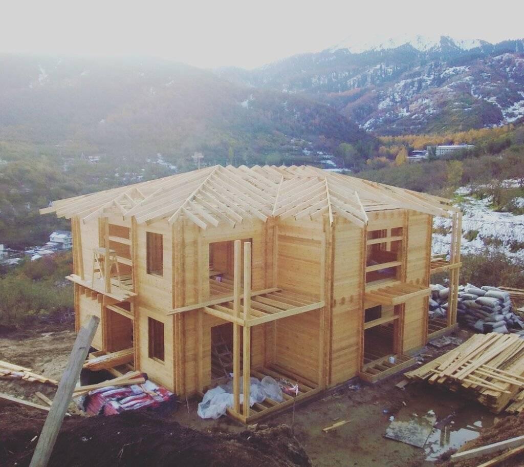 Двойной брус — новые тенденции в строительстве жилых домов
