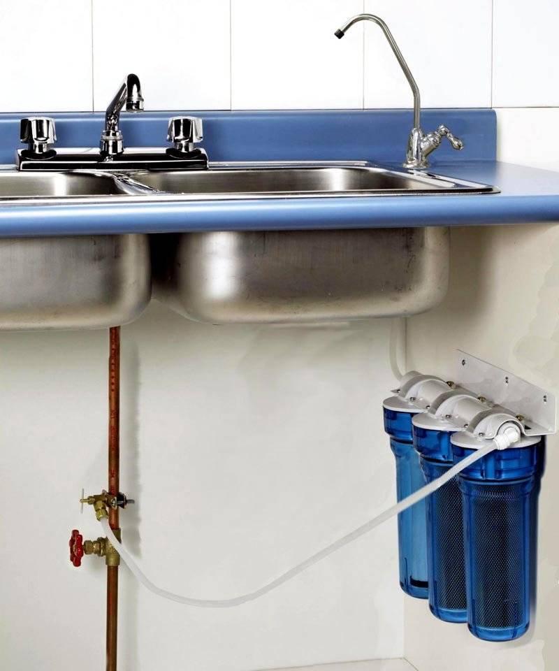Проточные фильтры для воды под мойку: рейтинг лучших устройств, как и какой выбрать, особенности установки