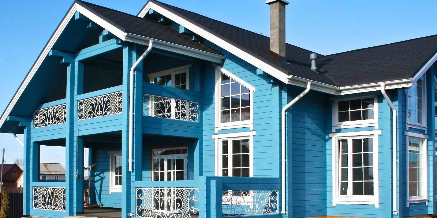 Чем покрасить деревянный дачный домик снаружи?