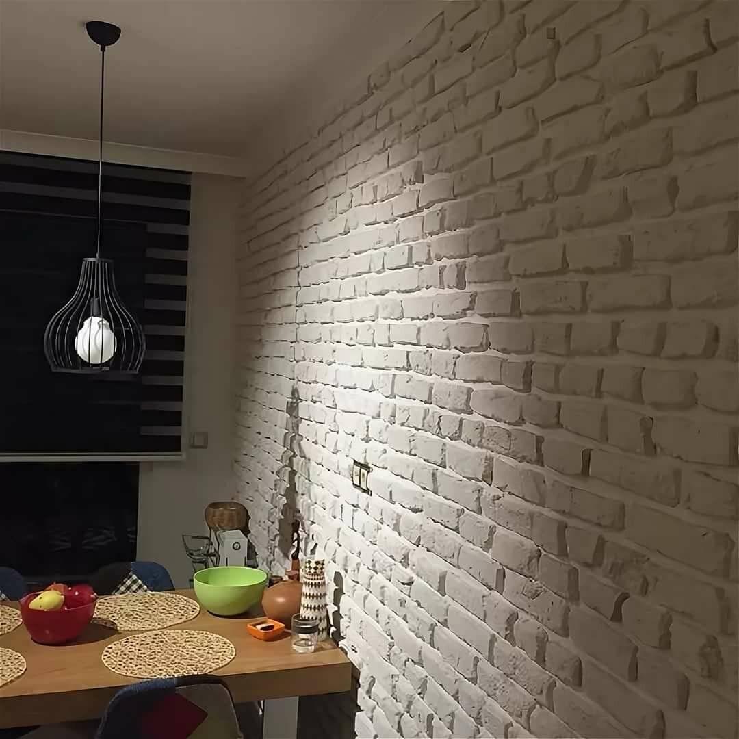 Декоративный кирпич в интерьере: фото и видео в одном обзоре