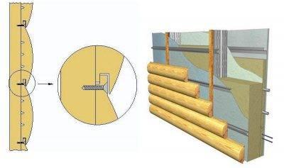 Блок хаус для наружных и внутренних работ — размеры, как крепить, монтаж своими руками