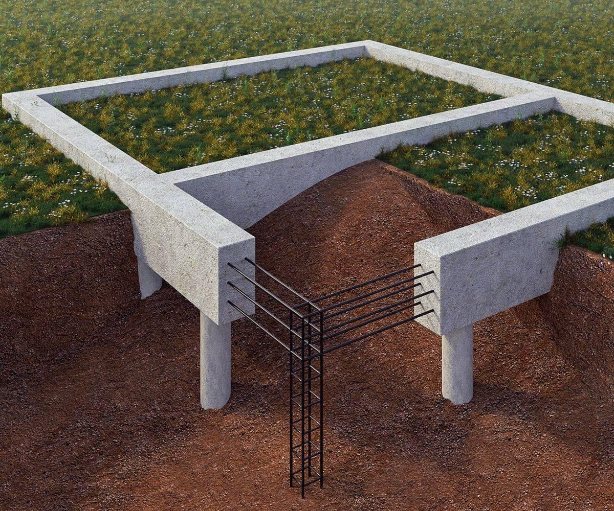 ????фундамент на железобетонных сваях для частного дома: разновидности и этапы монтажа - блог о строительстве