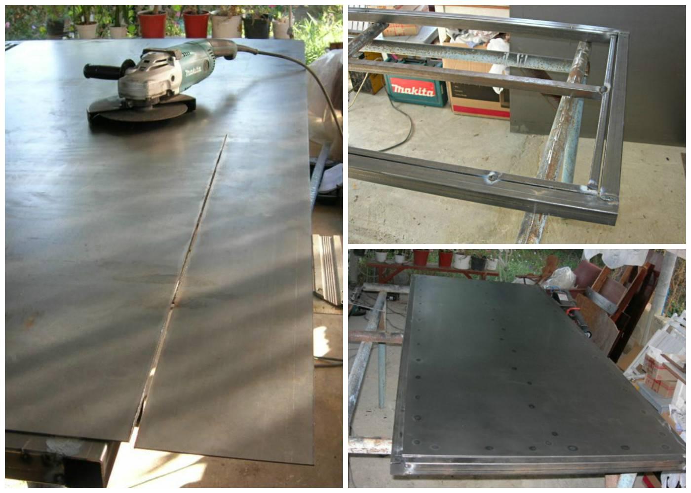 Железная дверь своими руками: изготовление из профтрубы | ремонтсами! | информационный портал