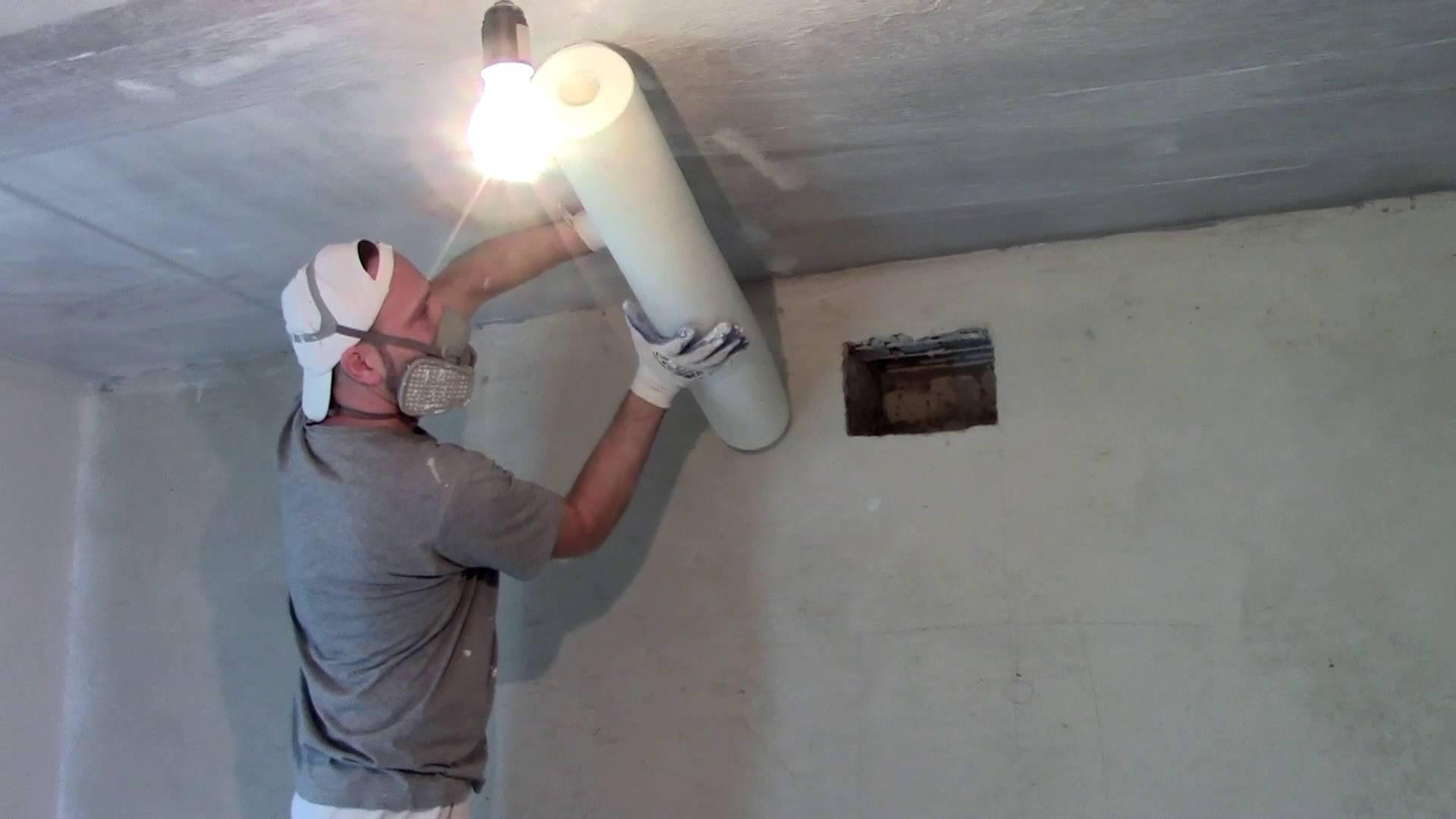 Паутинка для потолка под покраску: цена и поклейка стекловолокна для ремонта