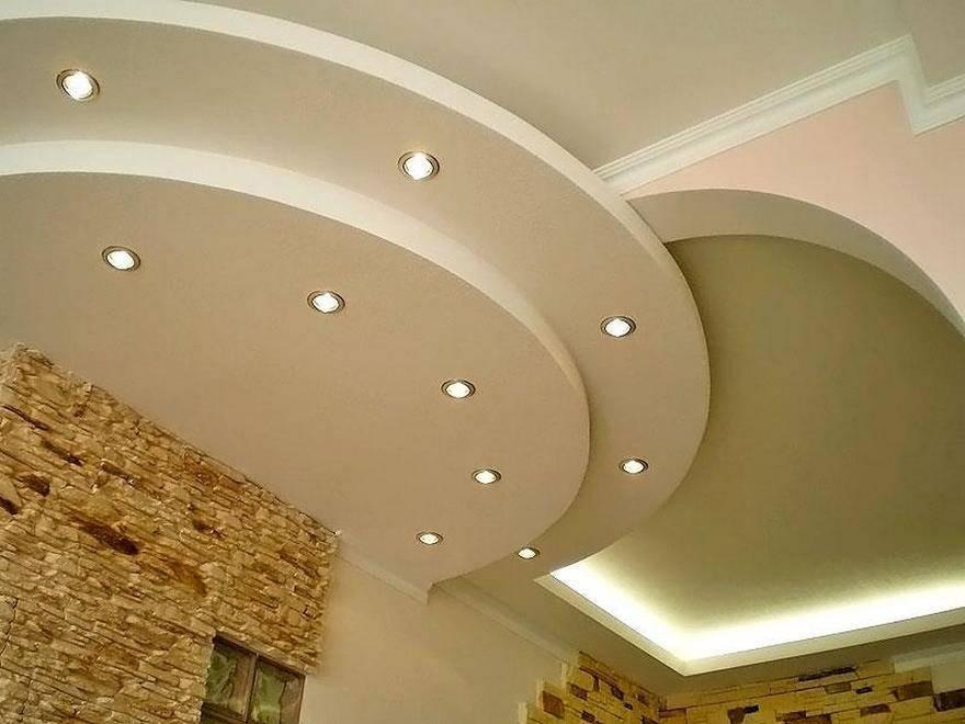 Из чего правильно сделать многоуровневый потолок из гипсокартона