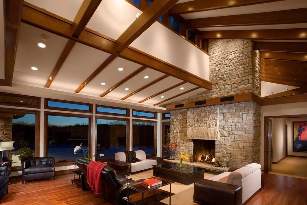 Устройство потолка в частном доме: варианты для холодного чердака и теплой мансарды