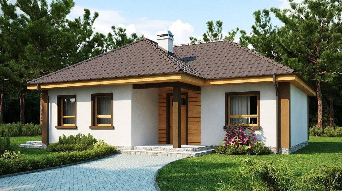 Одноэтажные дома из пеноблоков – самый недорогой вариант энергоэффективного жилья