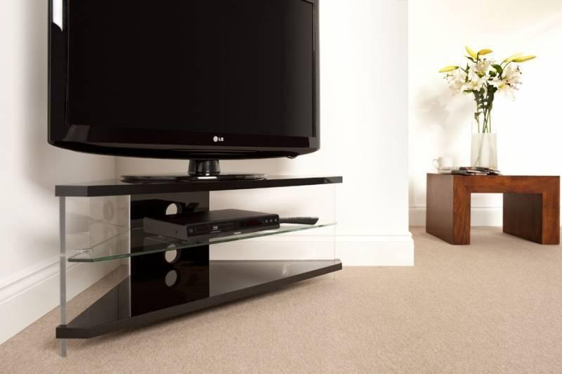 Тумбы под телевизор угловые, плюсы и минусы, разновидности, стили