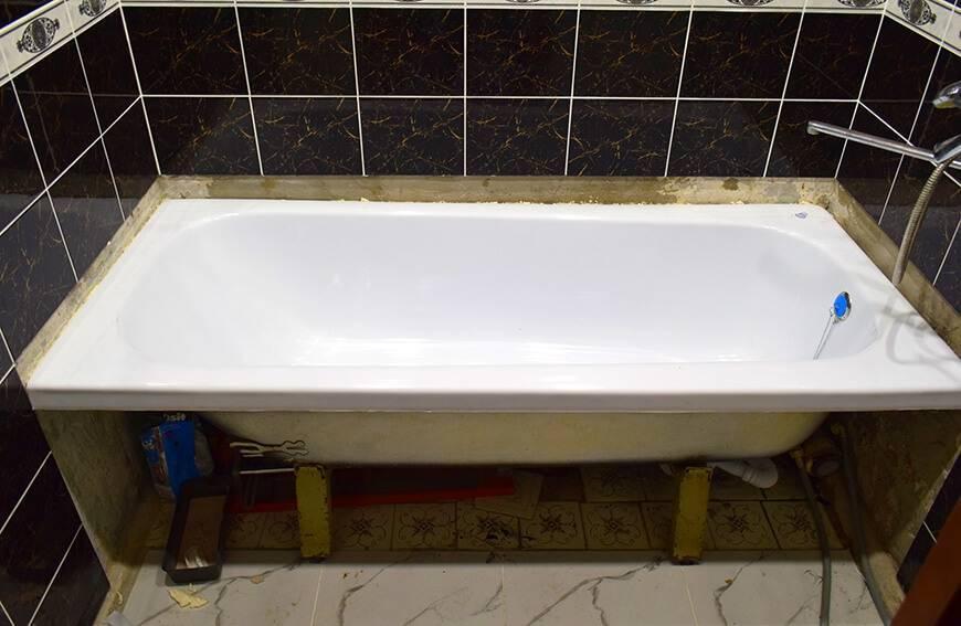 Акриловая вставка в ванну - плюсы, минусы, отзывы