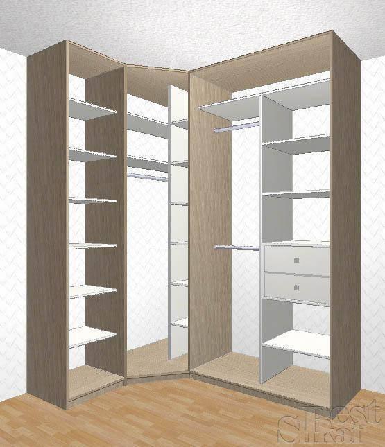 Угловой шкаф купе своими руками: пошаговая инструкция со схемой, чертежами и размерами, которая позволяет сделать каркас и установить двери