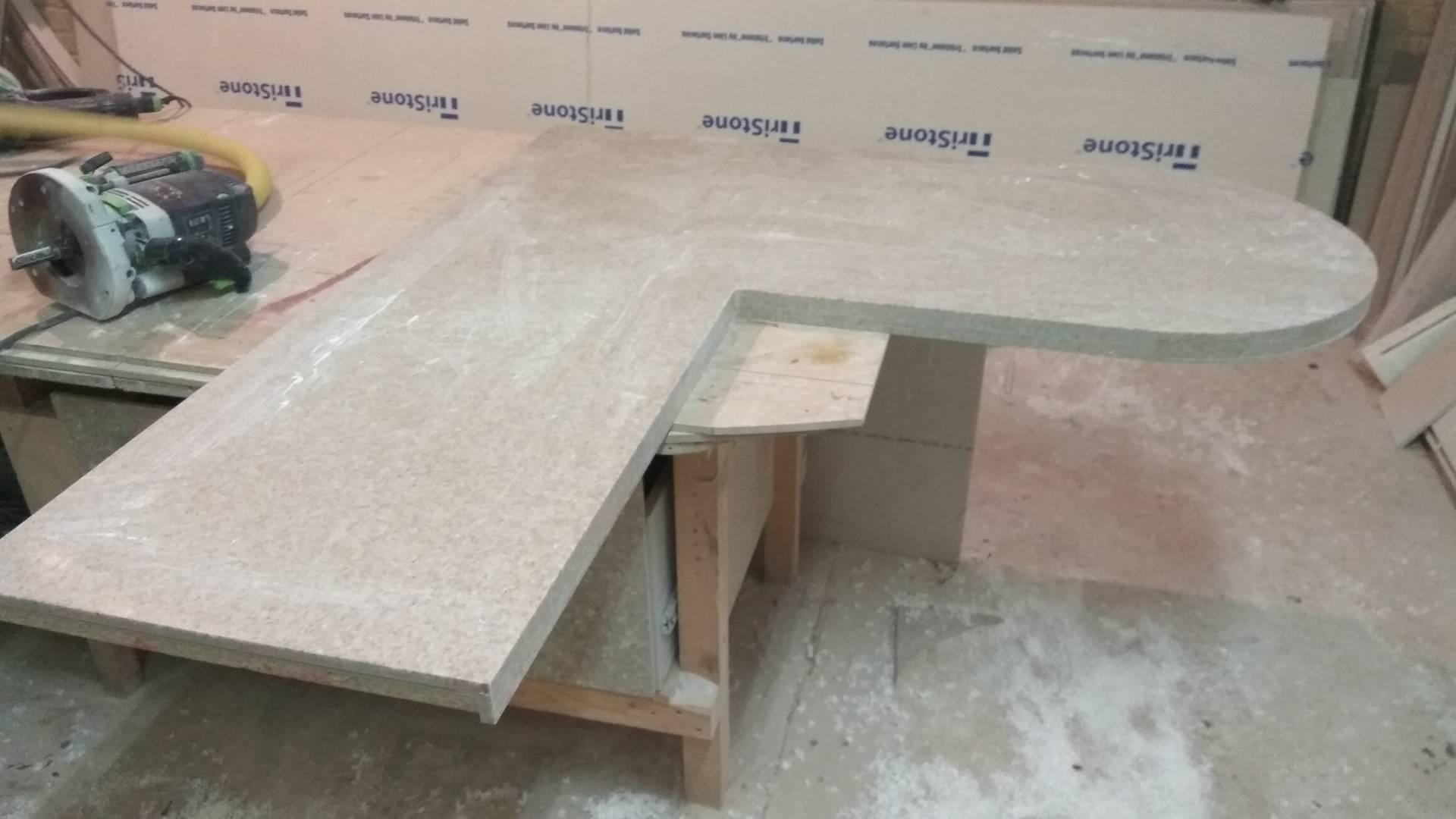 Столешница из искусственного камня - твойдомстройсервис.рф