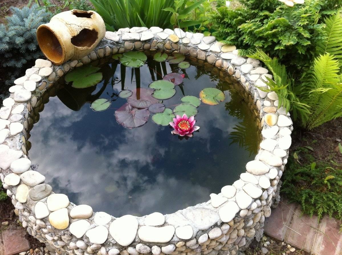 Материалы для искусственных прудов на даче: из чего можно сделать  садовый пруд своими руками