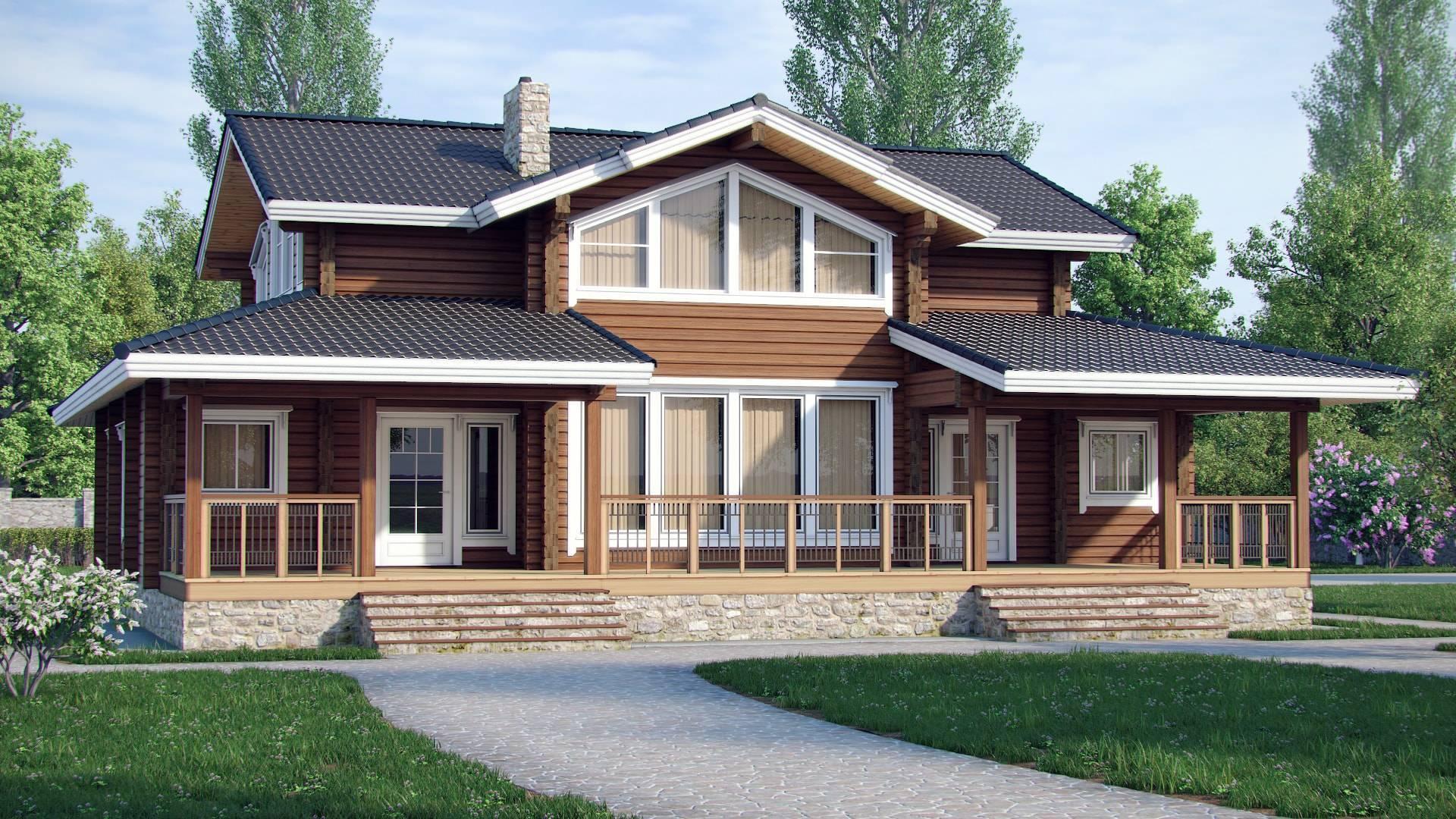Строительство финских домов: готовые пректы