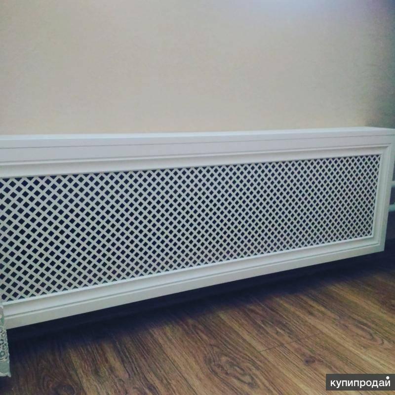 Экран на батарею отопления и радиатор: решетки и как закрыть в комнате красиво