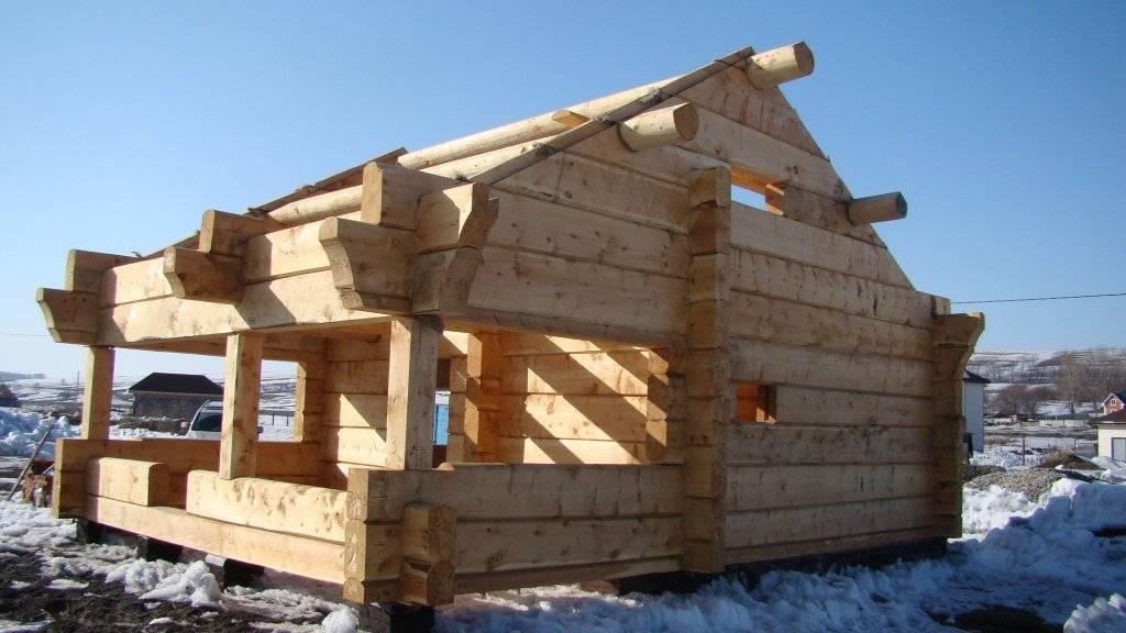 Норвежская рубка. дома и бани из лафета - подробная информация