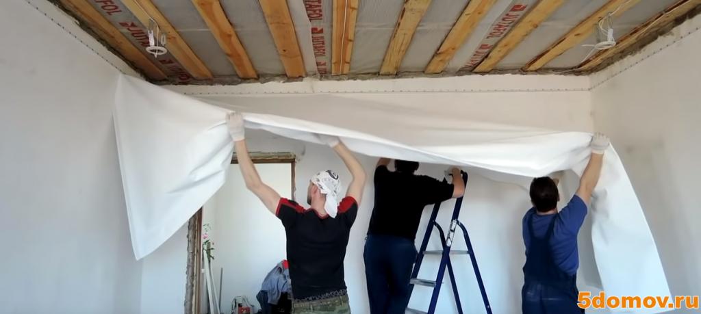Натяжной потолок: его достоинства и недостатки. установка натяжных потолков своими руками (видео)!
