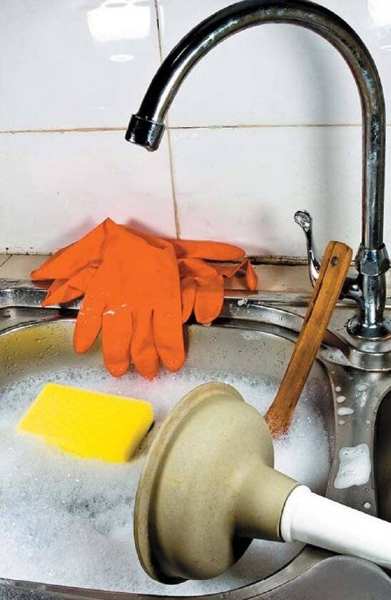 Как устранить засор канализации – практические советы