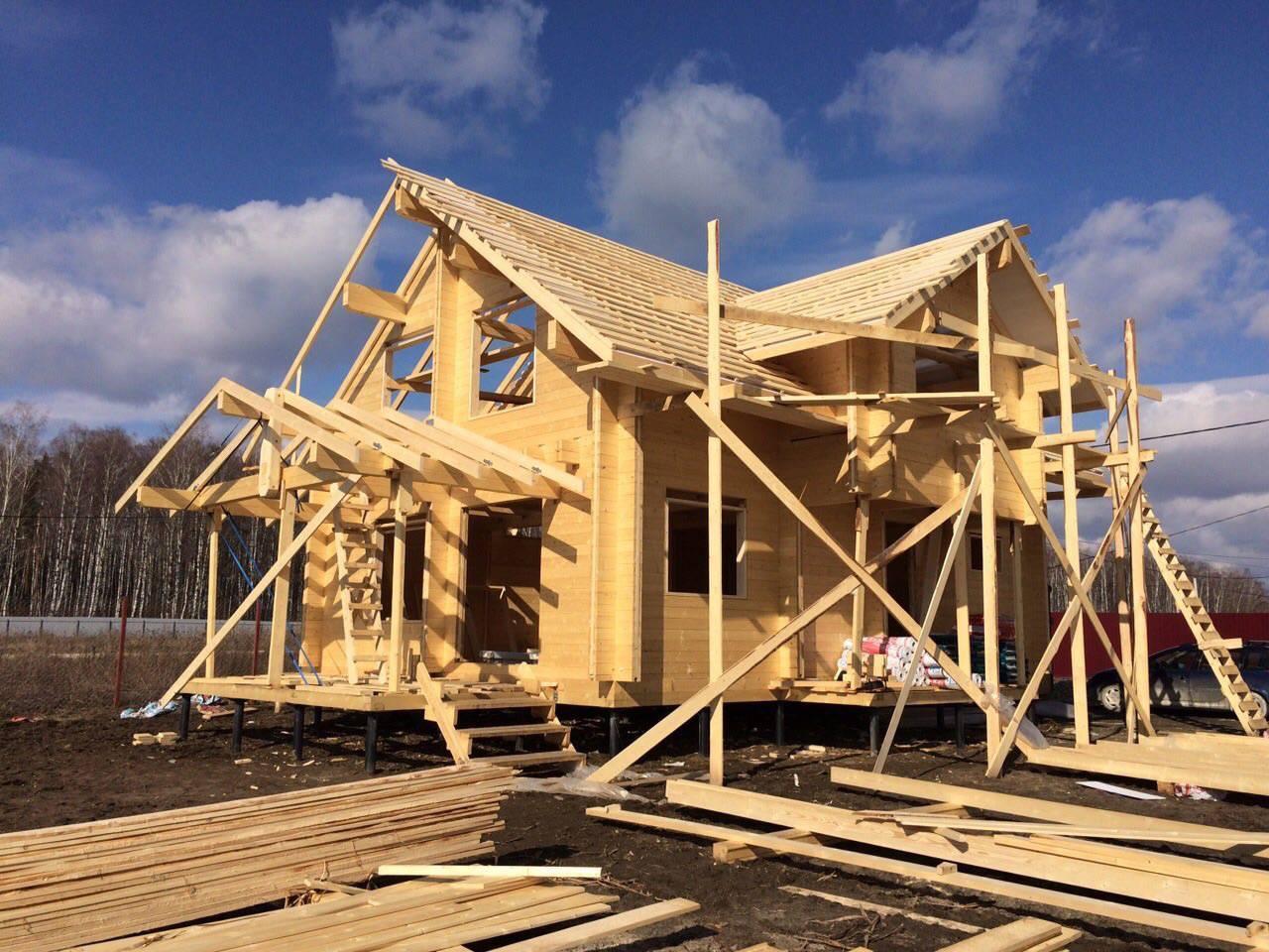 Технология строительства дома из бруса: этапы, материалы, инструменты (фото и видео)