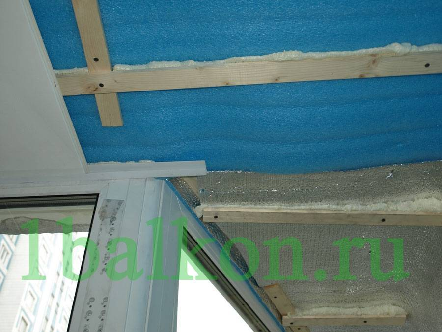 Отделка лоджии пластиковыми панелями с утеплением и без него, выбор материалов и производство работ