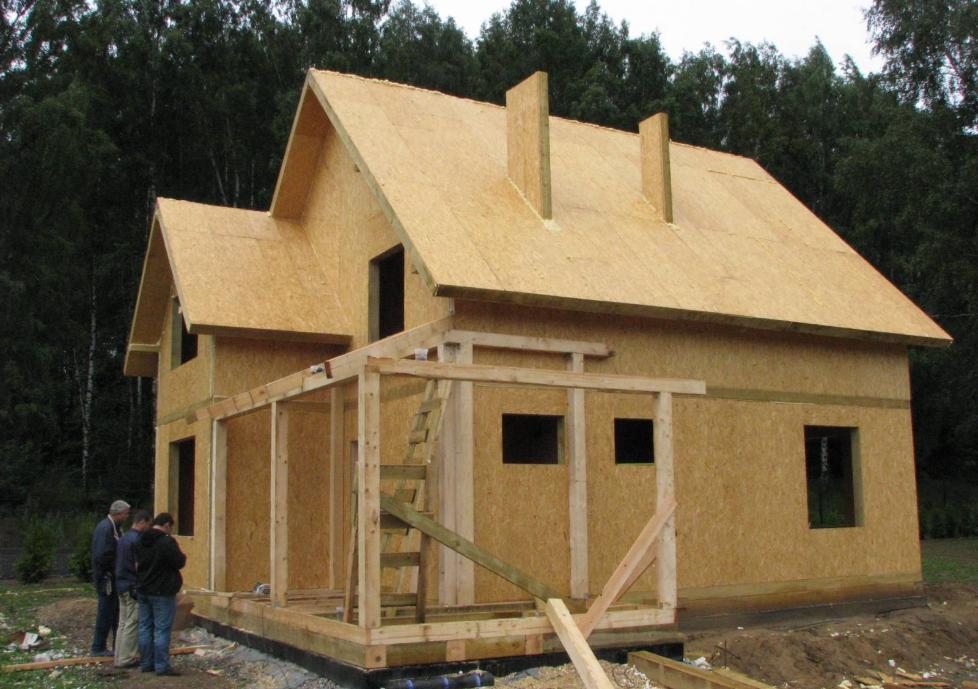 Сип технология строительства каркасных домов.