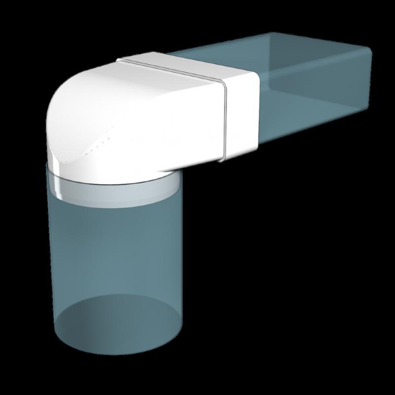 Пластиковые воздуховоды: 105 фото лучших схем вентиляции и рекомендации по выбору воздуховода