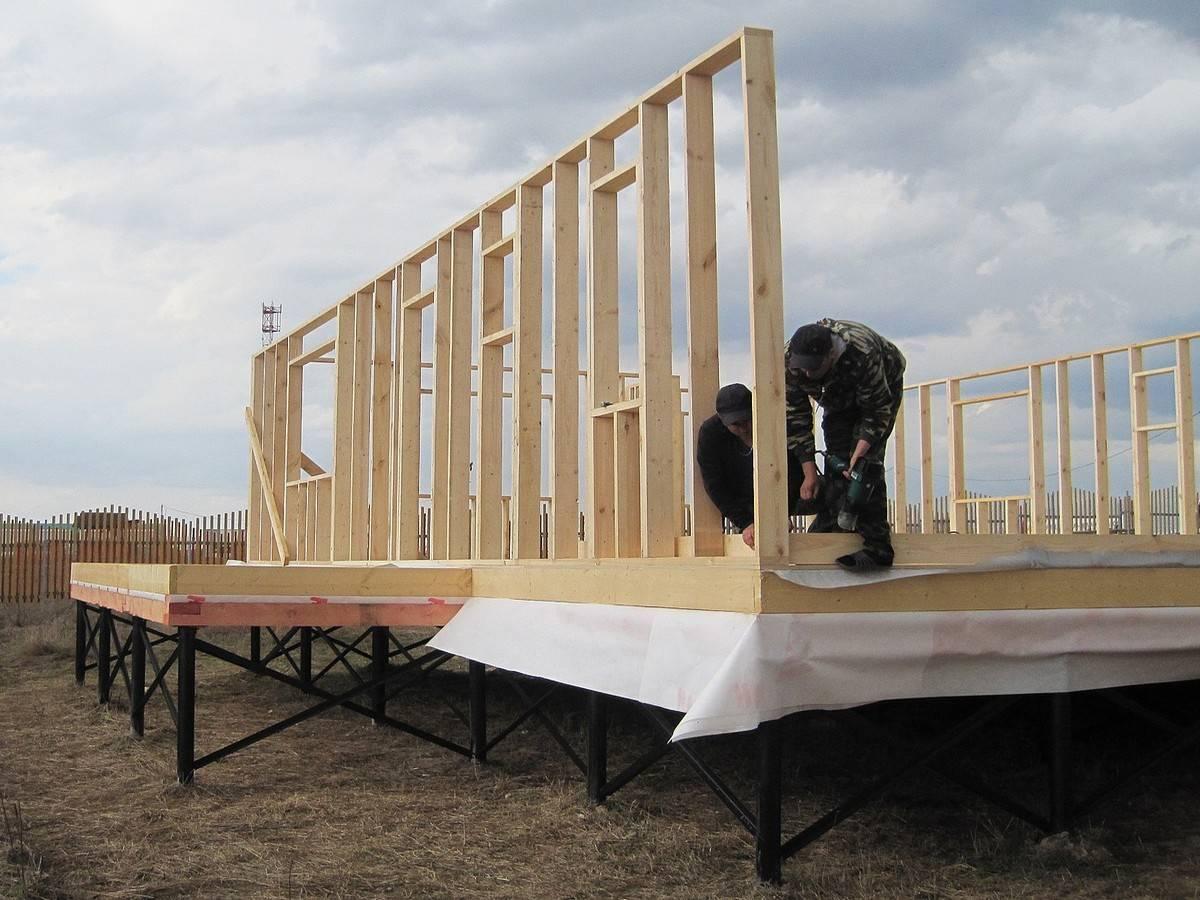 Cтроительство каркасных домов по финской технологии своими руками
