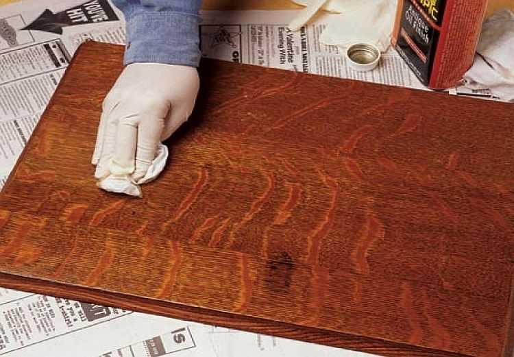 Полировка мебели своими руками в домашних условиях
