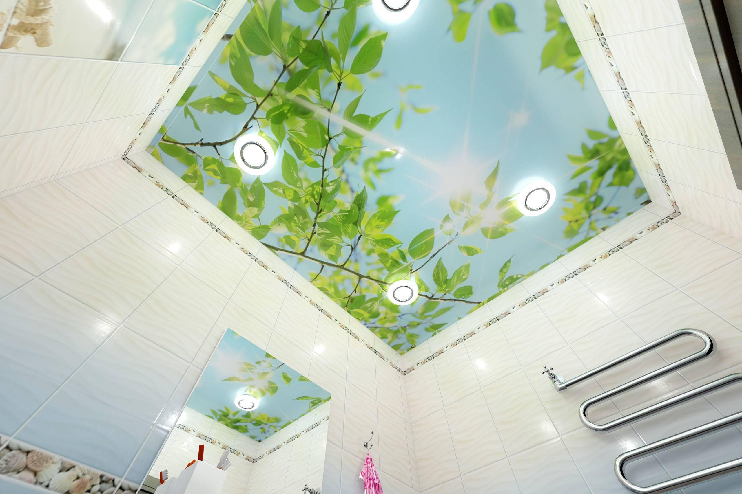 Размеры пластиковых панелей для потолка