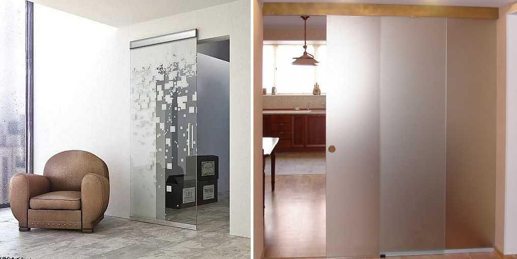 Раздвижные стеклянные двери (39 фото): межкомнатные двери и перегородки из стекла, итальянские дверные системы на балкон