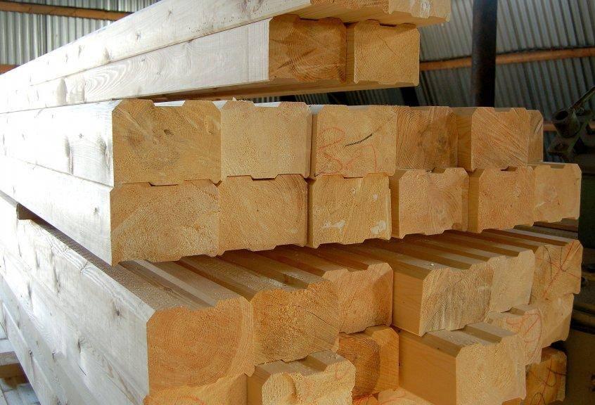 Брус сухой строганный (лиственница, сосна) камерной сушки, цена, купить в москве от производителя
