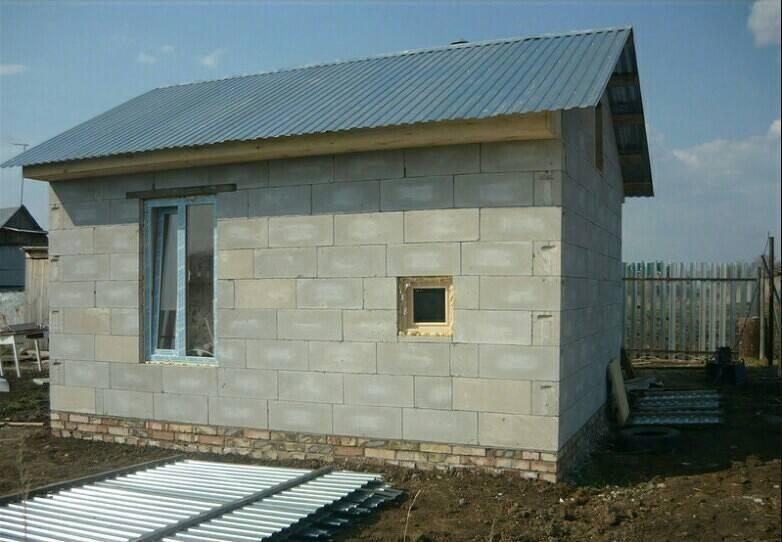 Преимущества строительства дачных домов из пеноблоков