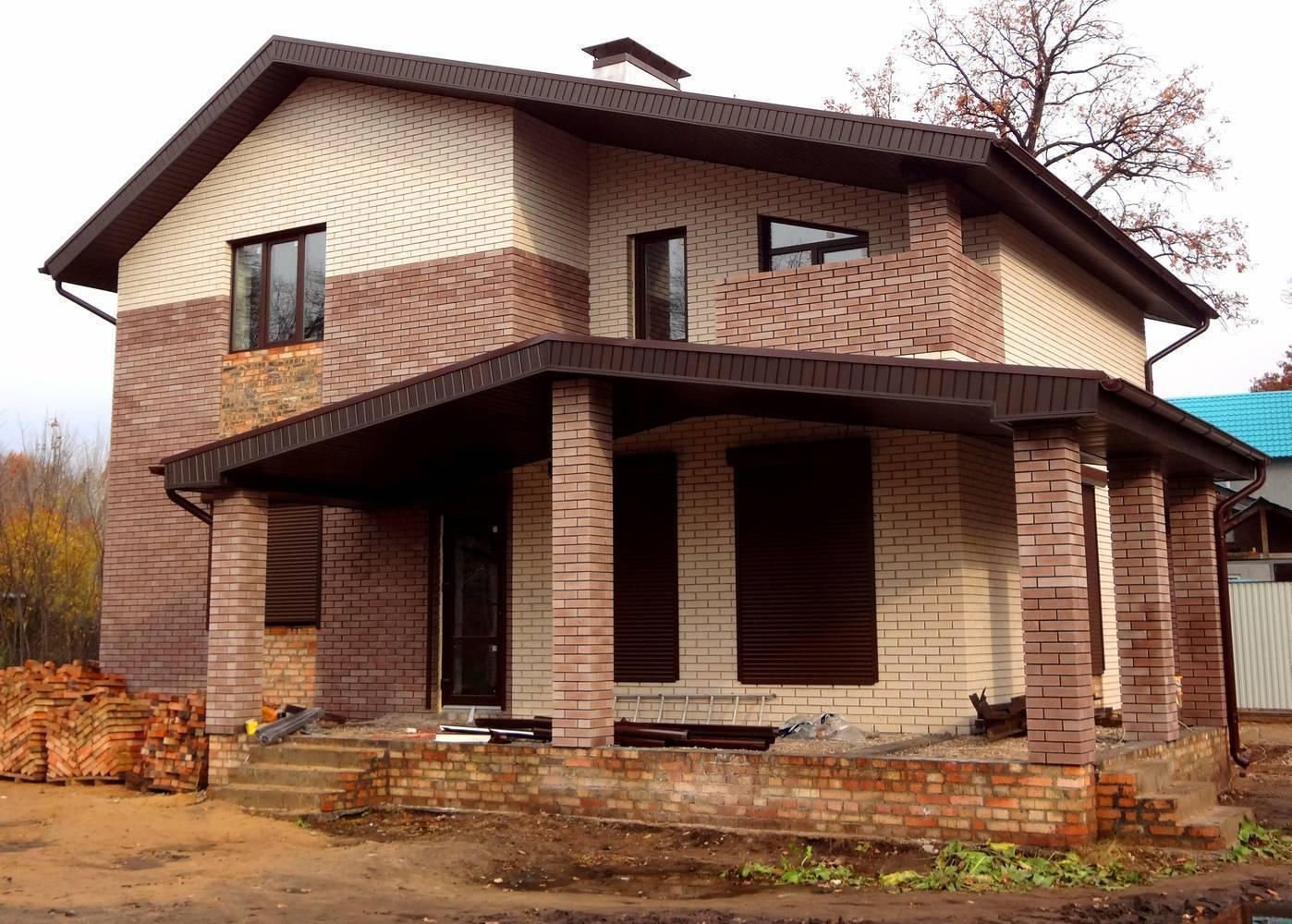 Преимущества и недостатки домов из кирпича