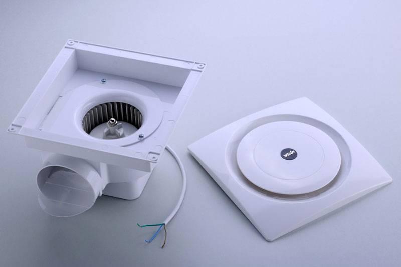 Потолочный вытяжной вентилятор для ванной комнаты и туалета