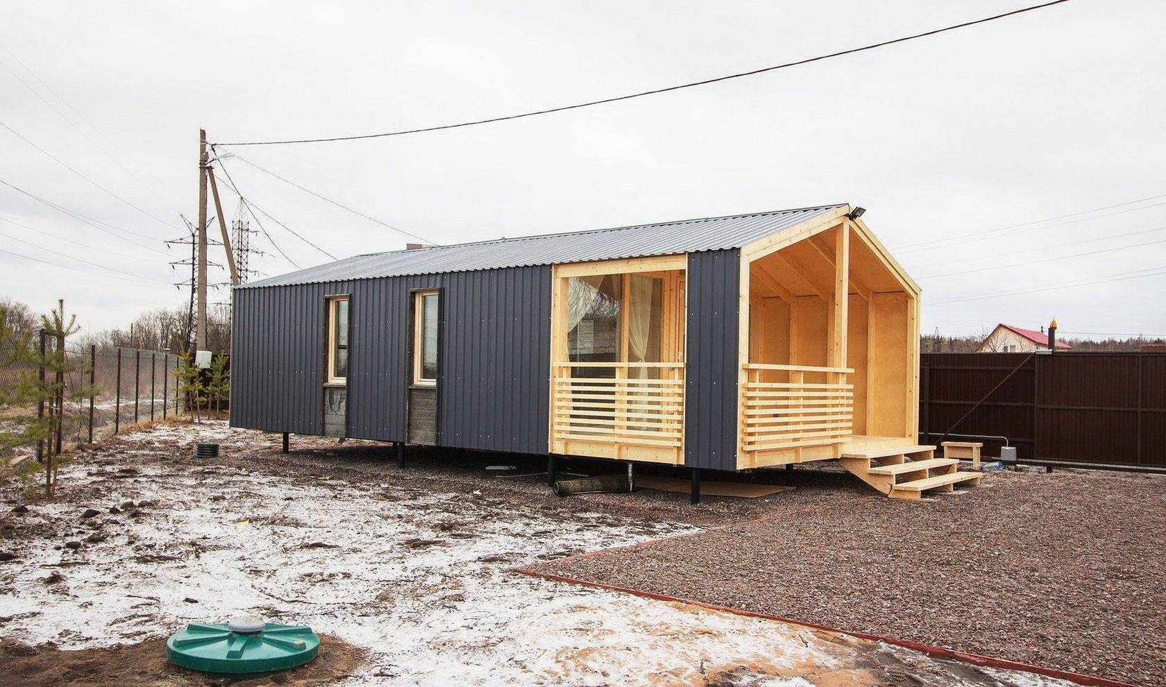 Каркасные дома для постоянного проживания: особенности строительства