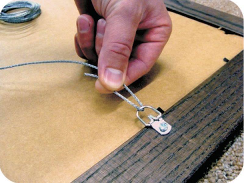 Как повесить модульную картину без гвоздей и сверления стен