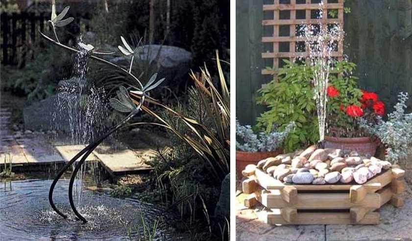 Фонтан своими руками - 100 фото и видео инструкция как сделать настоящий фонтан