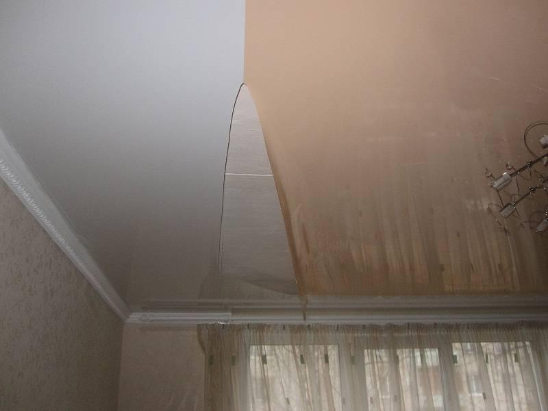 Провис натяжного потолка: все по порядку  |