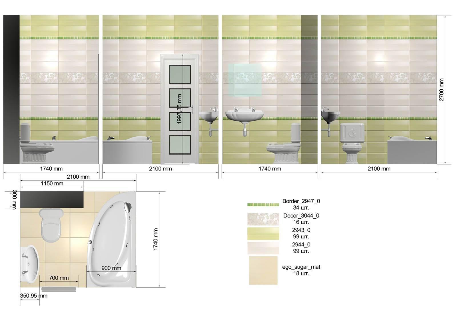 Как выбрать плитку для ванной комнаты своей мечты