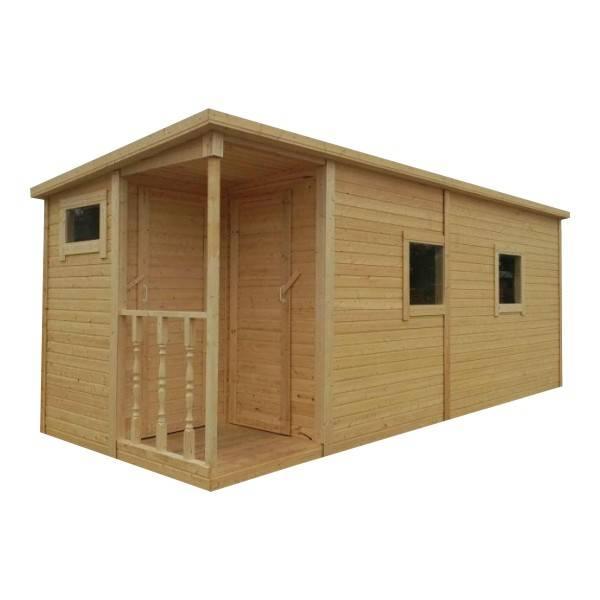 Как построить двухкомнатную зимнюю, жилую бытовку для дачи, с верандой, туалетом и душем, своими руками