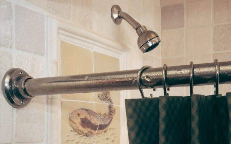 Как выбрать и установить карниз для шторы в ванную: пошаговый инструктаж