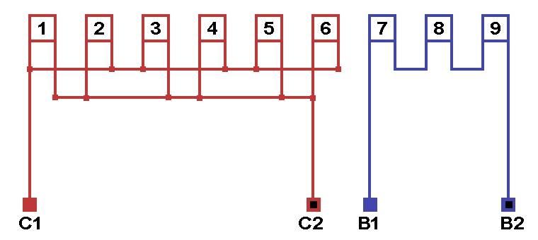 Подключение трехфазного двигателя к однофазной сети через конденсатор: схема, подбор