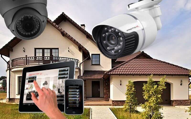 Видеонаблюдение своими руками — установка  дома, на даче, в квартире