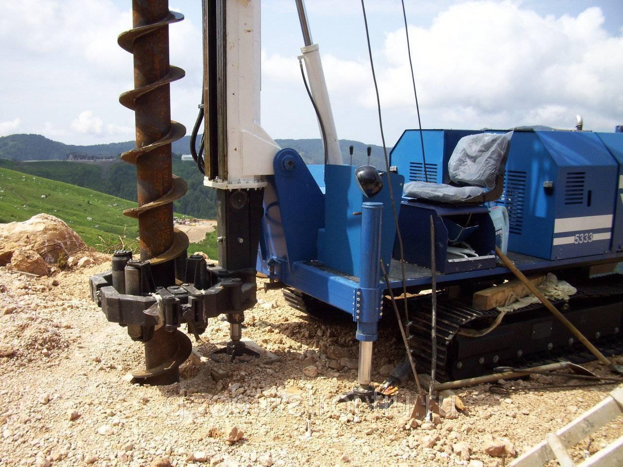 Буровая установка своими руками: поэтапный монтаж конструкции
