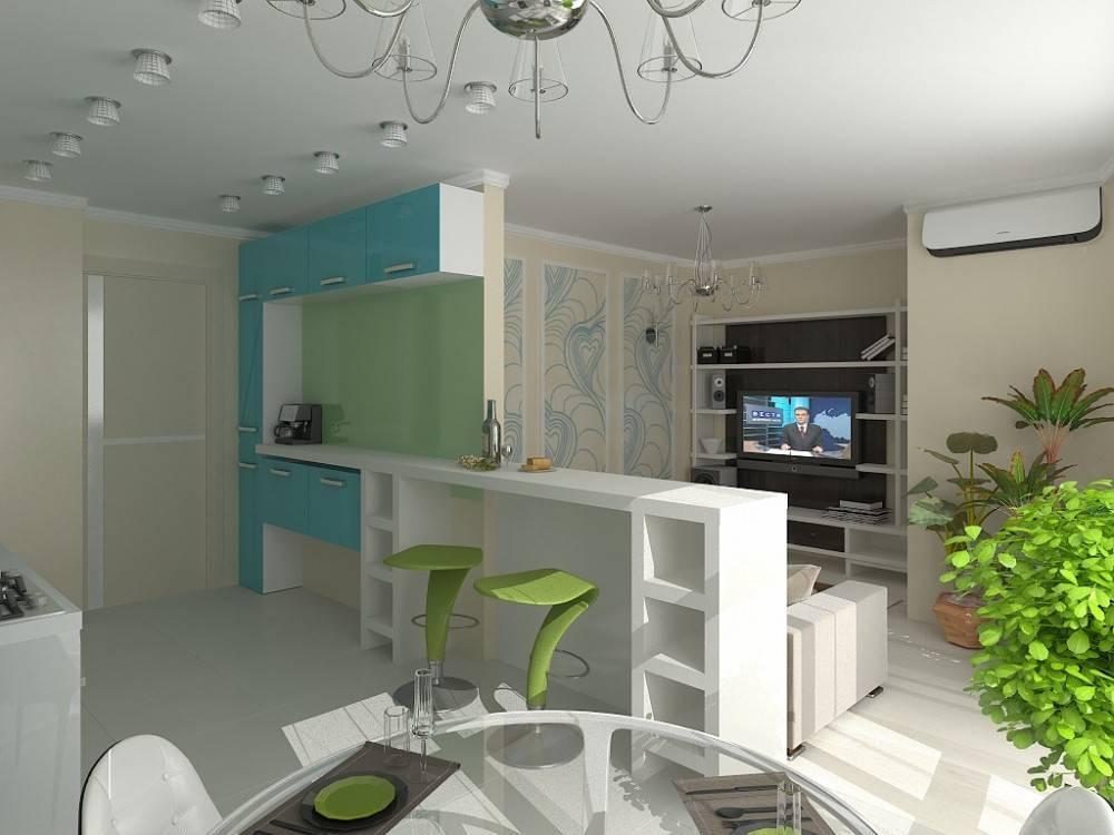 Принципы и варианты планировки квартиры-студии